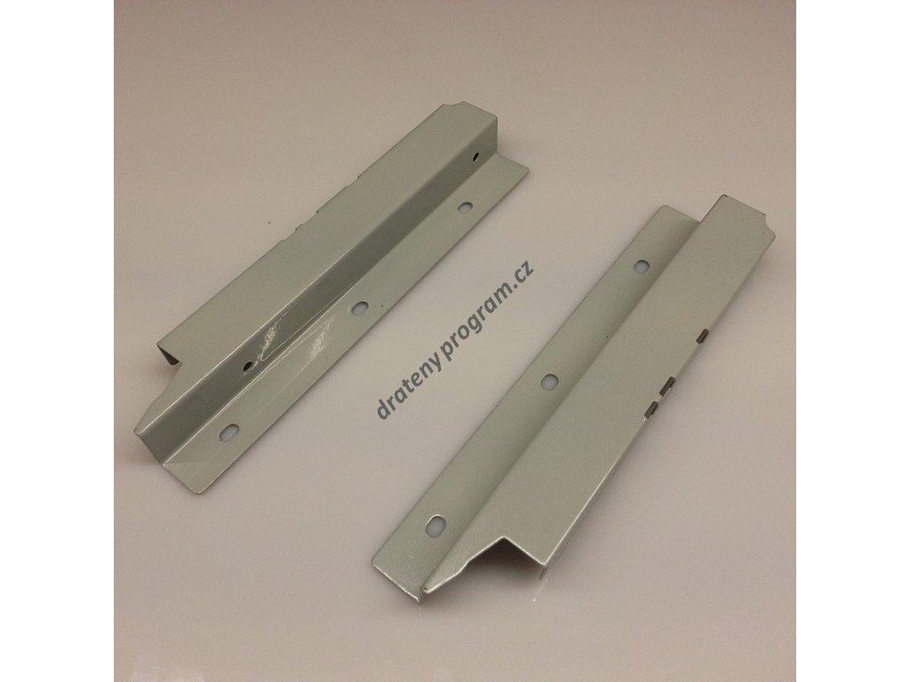 Držák zadního panelu pro box se zvýšeným relingem