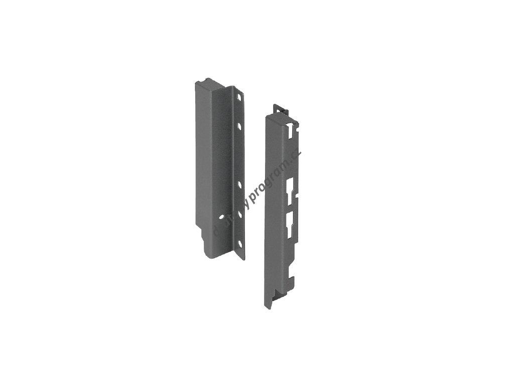 Držák zadního panelu ELEGANCE antracit pro box se zvýšeným relingem