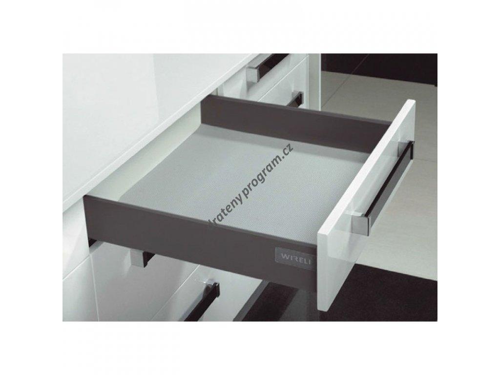 Výsuvný box ELEGANCE 550 - antracit