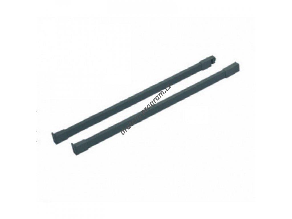 Podélný reling ELEGANCE 450 L/P - antracit