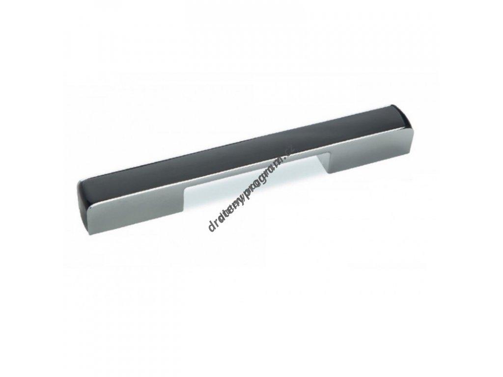 Úchytka CD3062 - 224mm, chrom černá