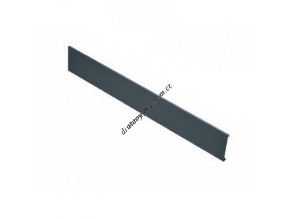 Vnitřní přední plát ELEGANCE L-1200 mm - antracit