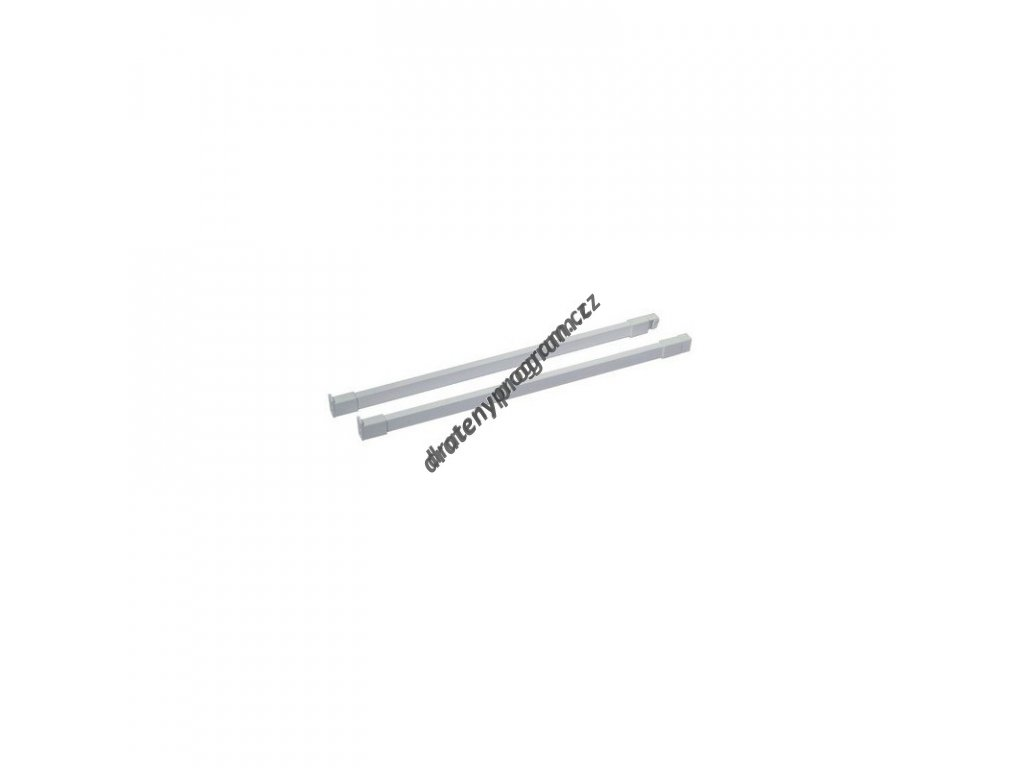 Podélný reling ELEGANCE 550 L/P - bílý
