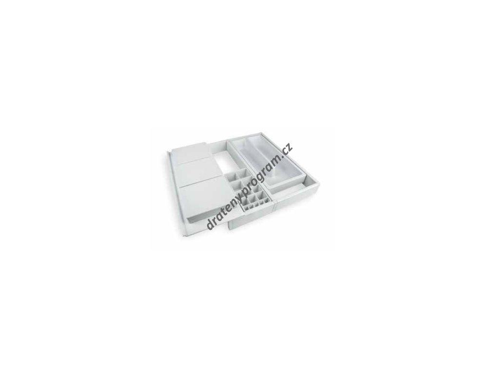 Rozdělovník ONDA 350 do zásuvky, nastavitelný - bílý