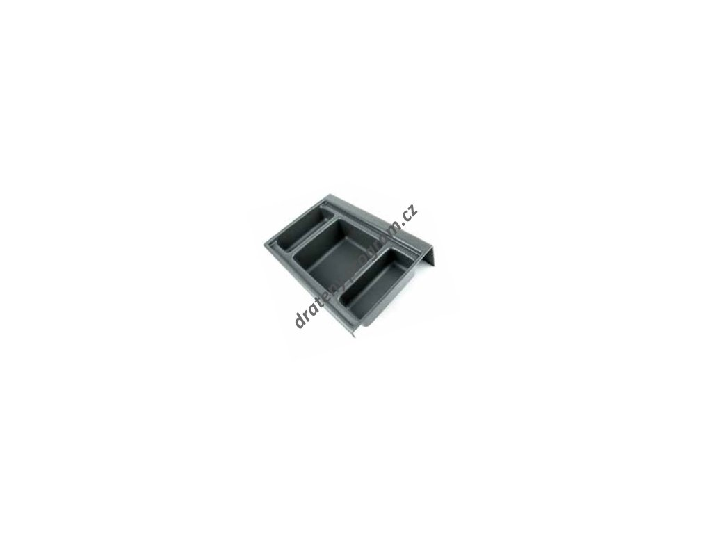 Rozdělovník ONDA 350 do zásuvky, 236x322x84 mm, plast, antracit