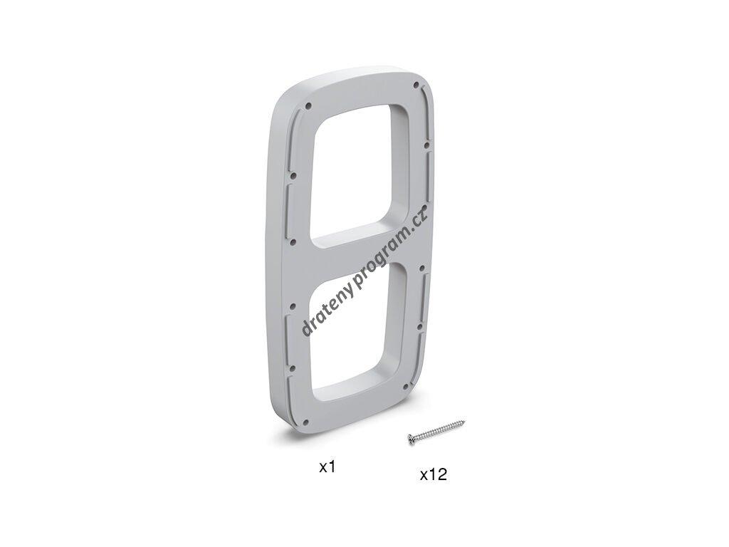 Distanční podložka pro sklopnou šatní tyč SLING - bílá
