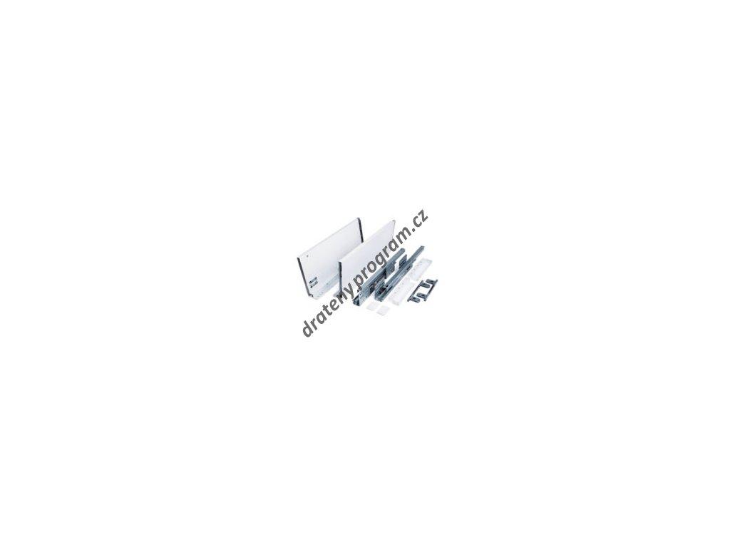 Výsuvný box SLIM 450 - 167 mm, bílý