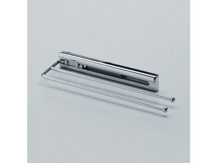 DOPRODEJ Výsuvný věšák na utěrky, L 325 mm, chrom