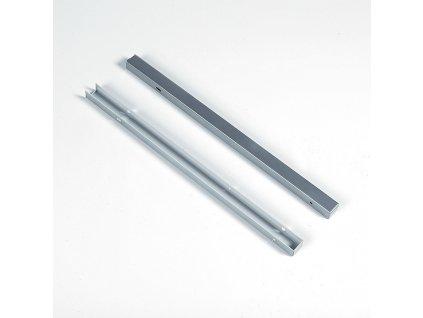 Kryt výsuvu WIRELI 3102338004 - L/P, stříbrný epoxid