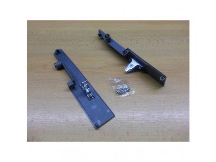 DOPRODEJ - Plastový úchyt vnitřního předního plátu pro výsuvný box se zvýšeným relingem