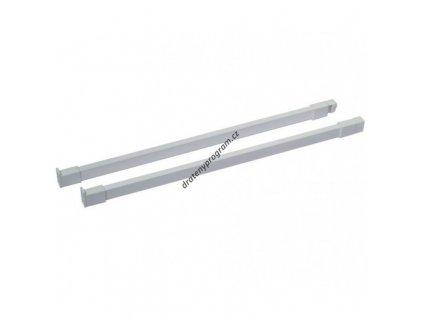 Podélný reling ELEGANCE 500 L/P - bílý
