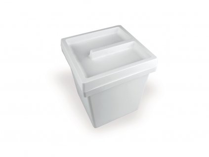 Koš ONDA 5l, 170x170x205 mm, plast, bílý