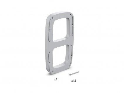 Distanční podložka pro sklopnou šatní tyč SLING - šedá