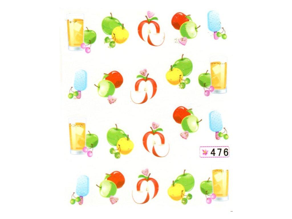 10355 nalepky jablko