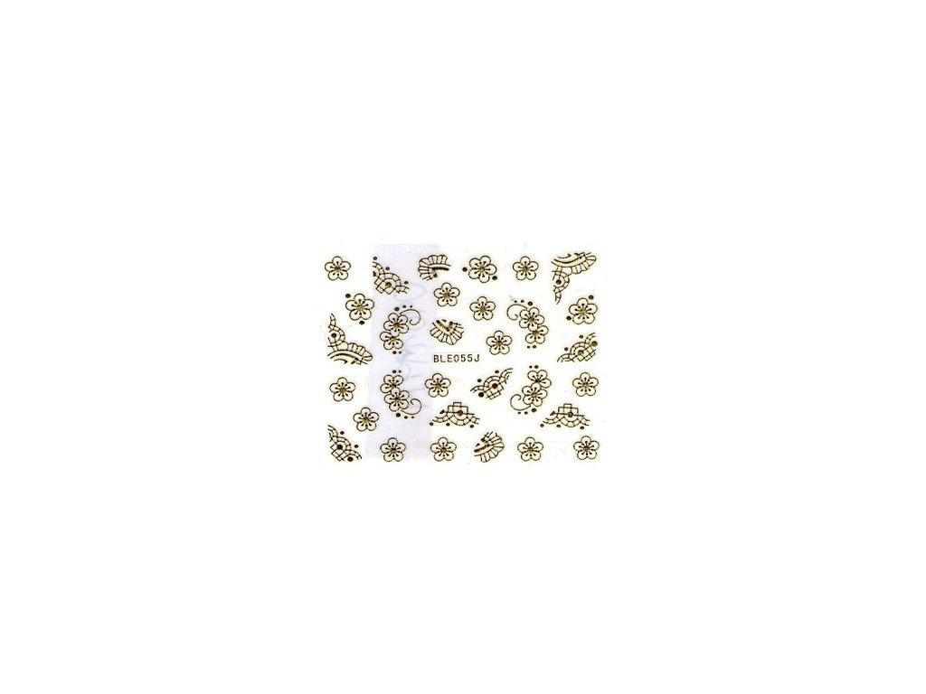 10469 nalepky gold mix 1