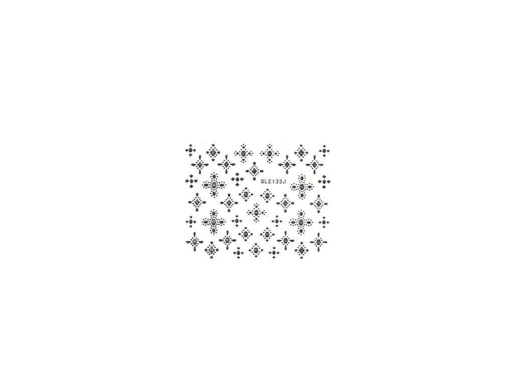 10499 nalepky vzor star