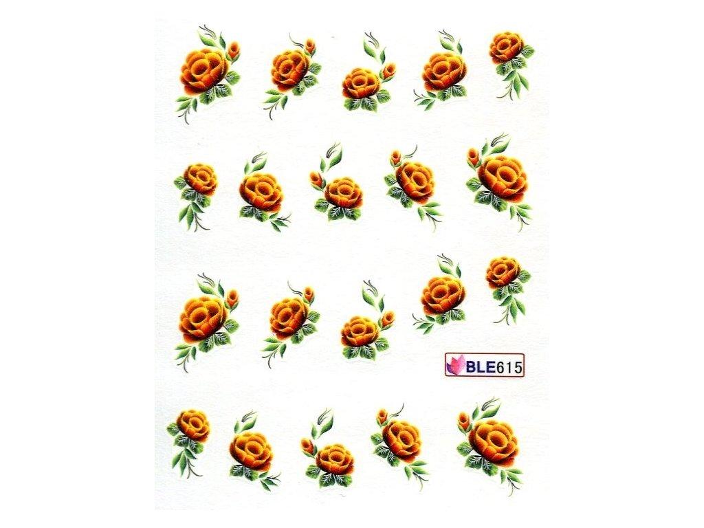11459 nalepky flowerx 30