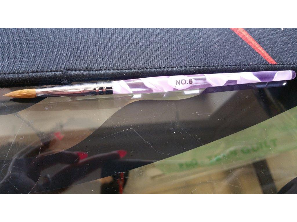 11894 stetec na akryl fialovy no 6