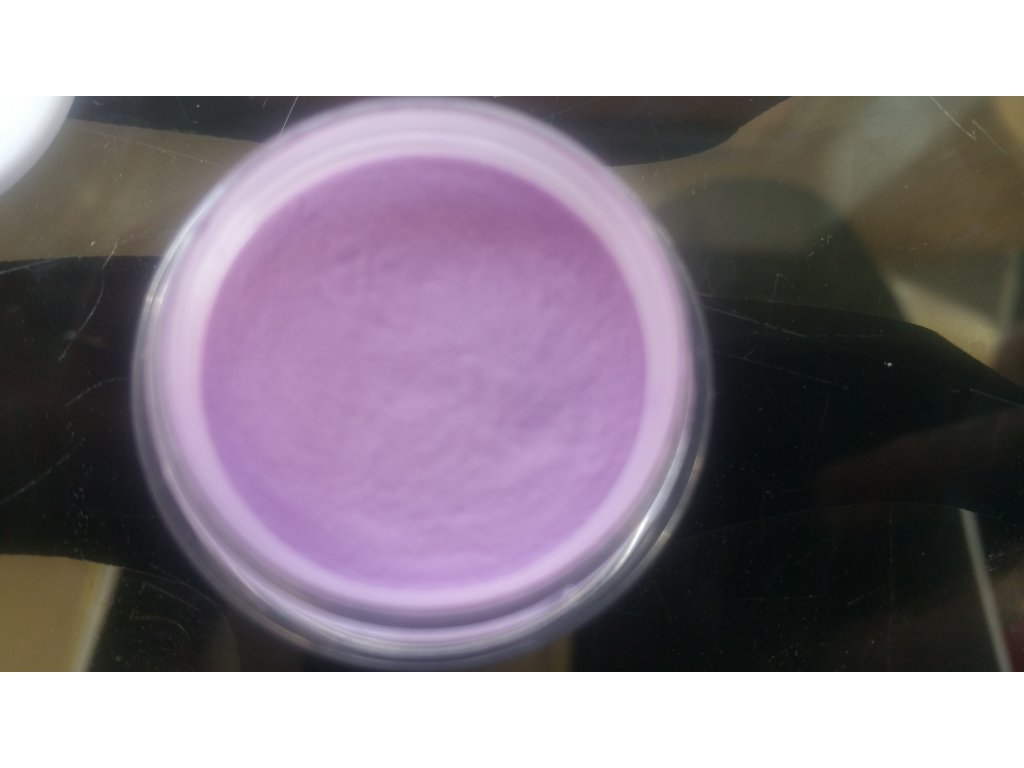 12638 akrylovy prasok fialovoruzovy