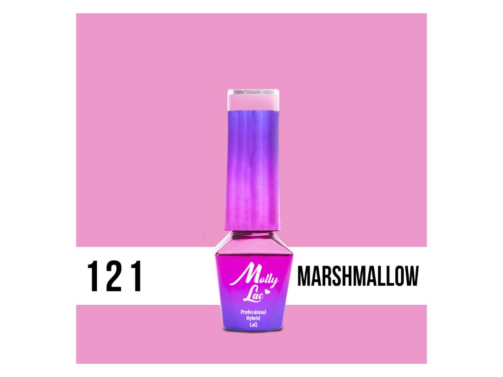 13013 gel lak molly lac yoghurt marshmallow 5ml nr 121 5ml