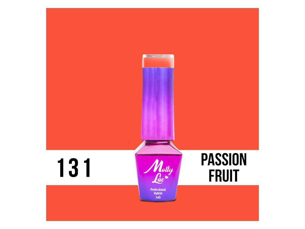 13121 1 gel lak molly lac bubble tea passion fruit 5ml nr 131