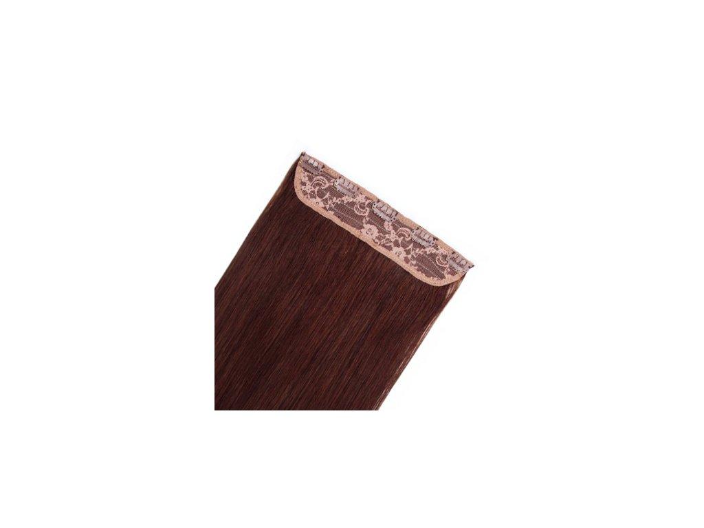 13583 flip volume jednopasove clip in vlasy 60cm 60g odtien 2