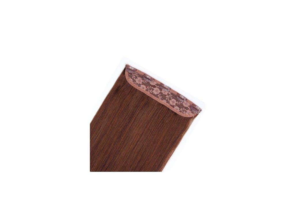 13592 flip volume jednopasove clip in vlasy 60cm 60g odtien 4
