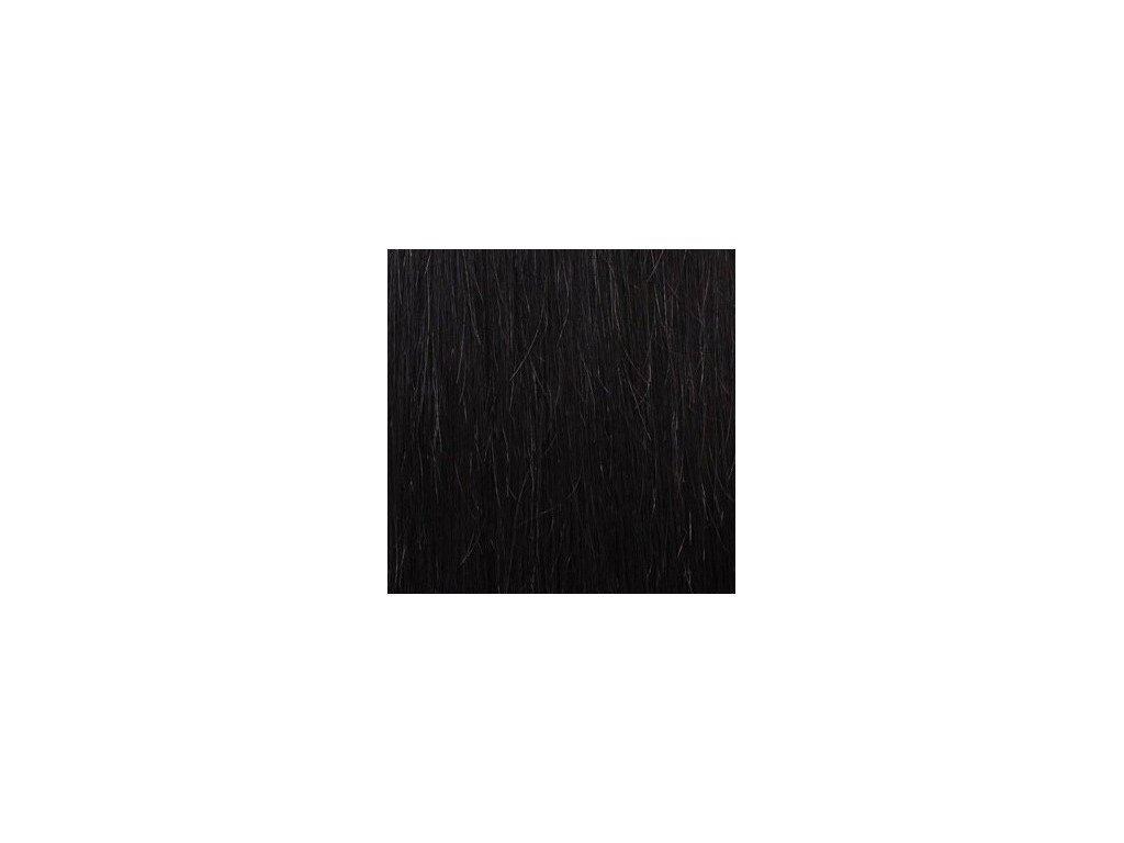 13751 micro loop remy vlasy 60cm farba 1b