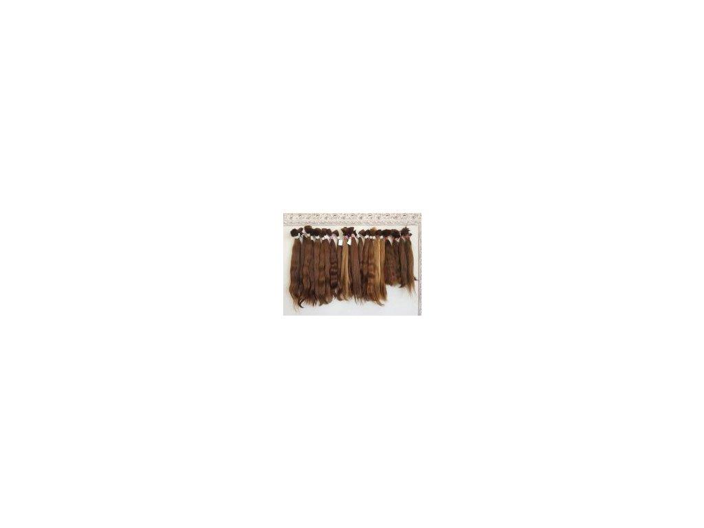 14033 slovanske panenske vlasy 50 60cm 50g