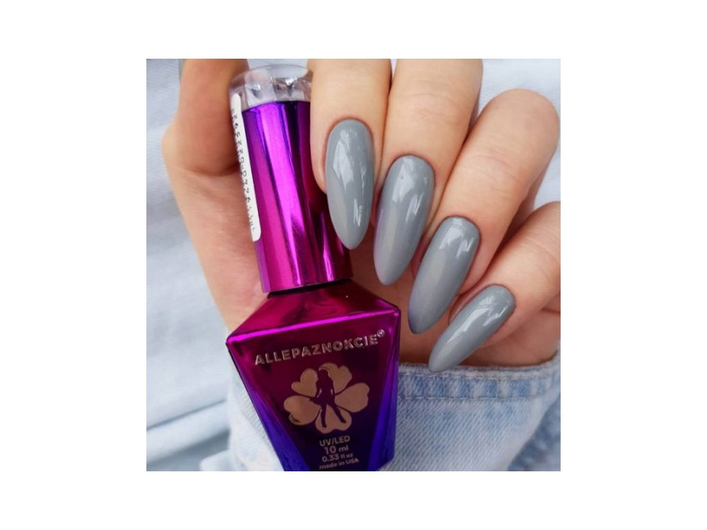GEL LAK Molly Lac Glamour Women Luxury Grey 5ml Nr 6 2