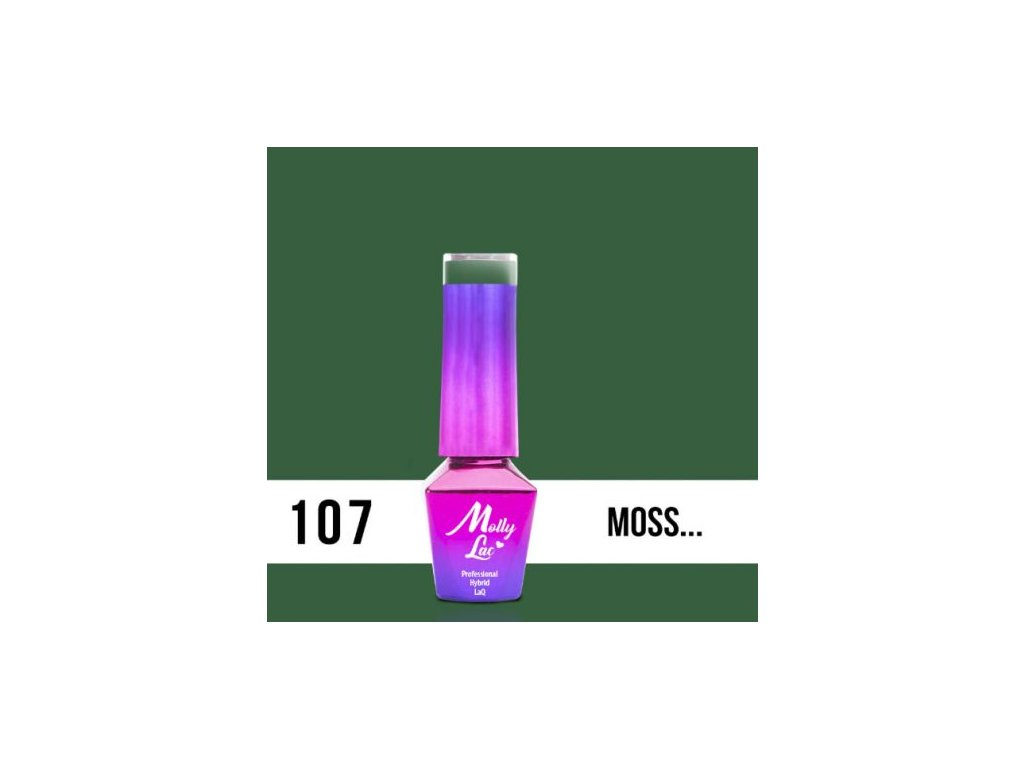 GEL LAK Molly Lac Molly Lac Pure Nature Moss... 5ml Nr 107