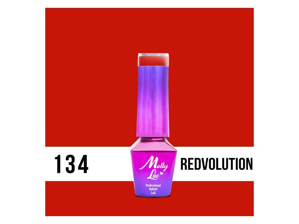 14907 gel lak molly lac bubble tea redvolution 5ml nr 134