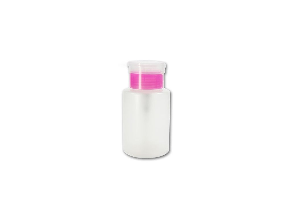 167 davkovac na tekute pripravky pink