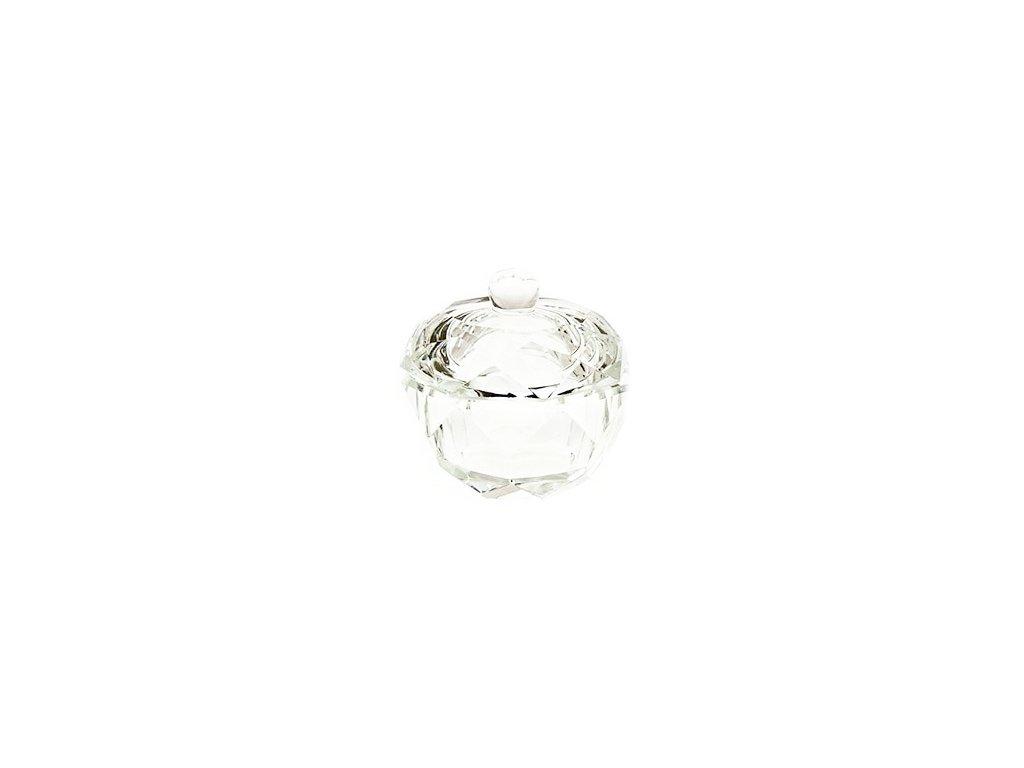 2081 krystalova miska na akryl s vrchnacikom