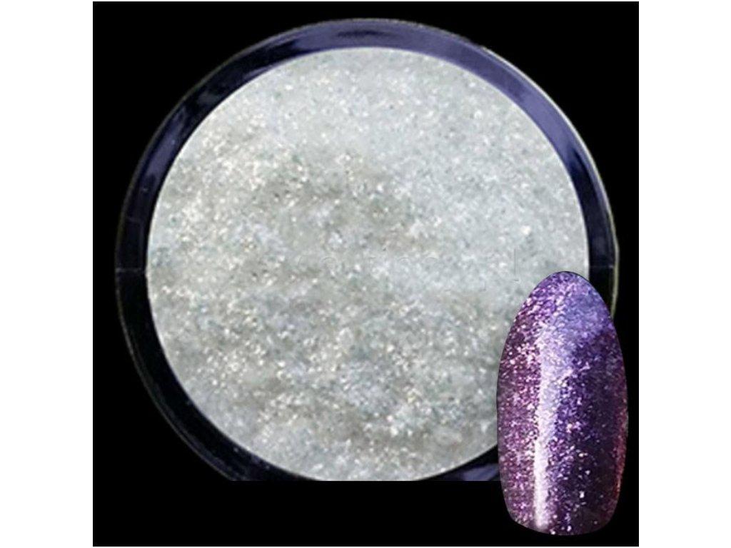 2222 diamond manicure lestiaci metalizovy prasok glitter violet 4