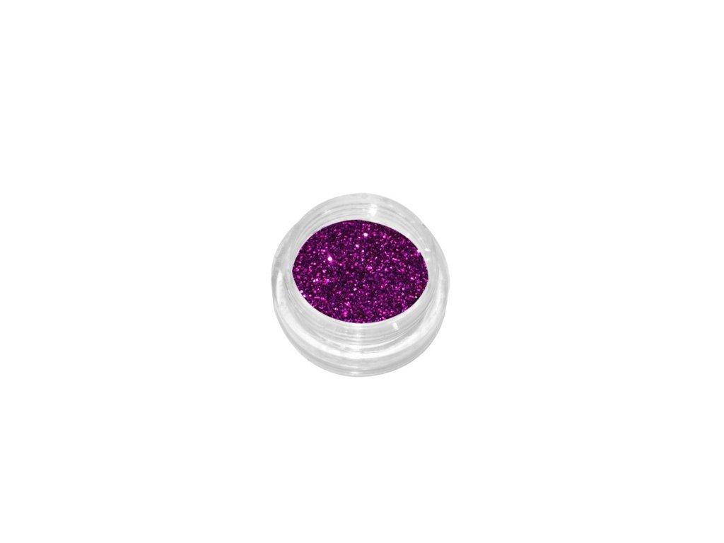 2315 glitrovy prasok tmavo fialovy