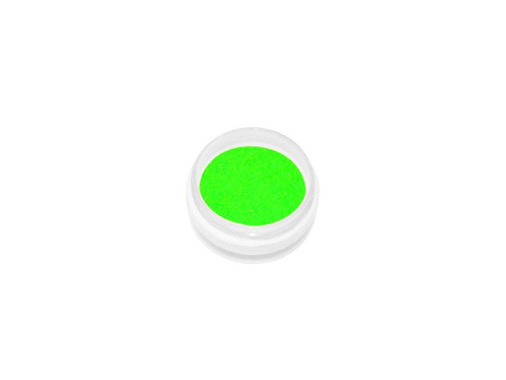 2591 akrylovy prasok neon zelena 5g