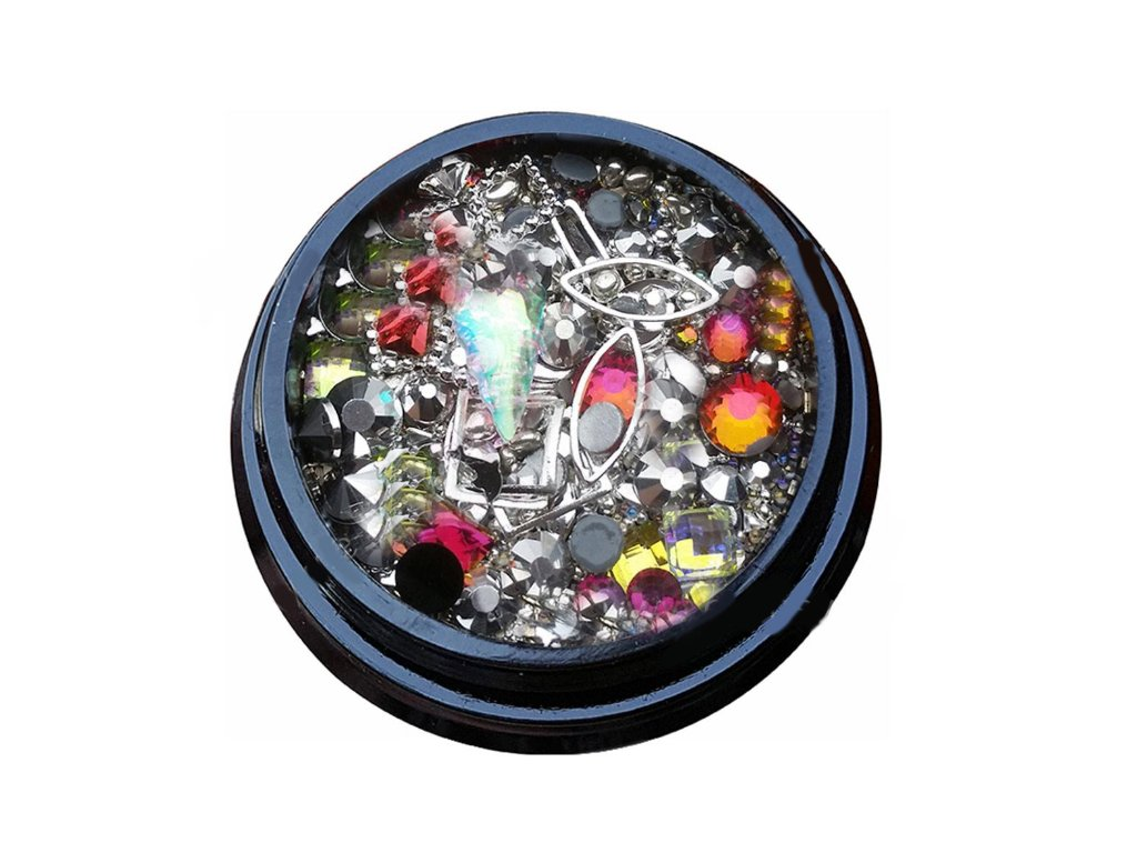 2954 luxusne ozdoby na nail art mix c 16