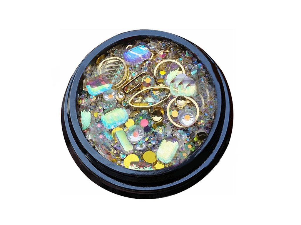 2960 luxusne ozdoby na nail art mix c 13