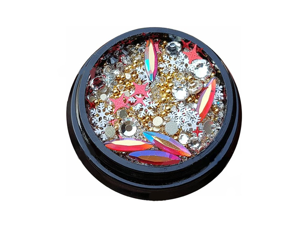 2999 luxusne ozdoby na nail art mix c 2