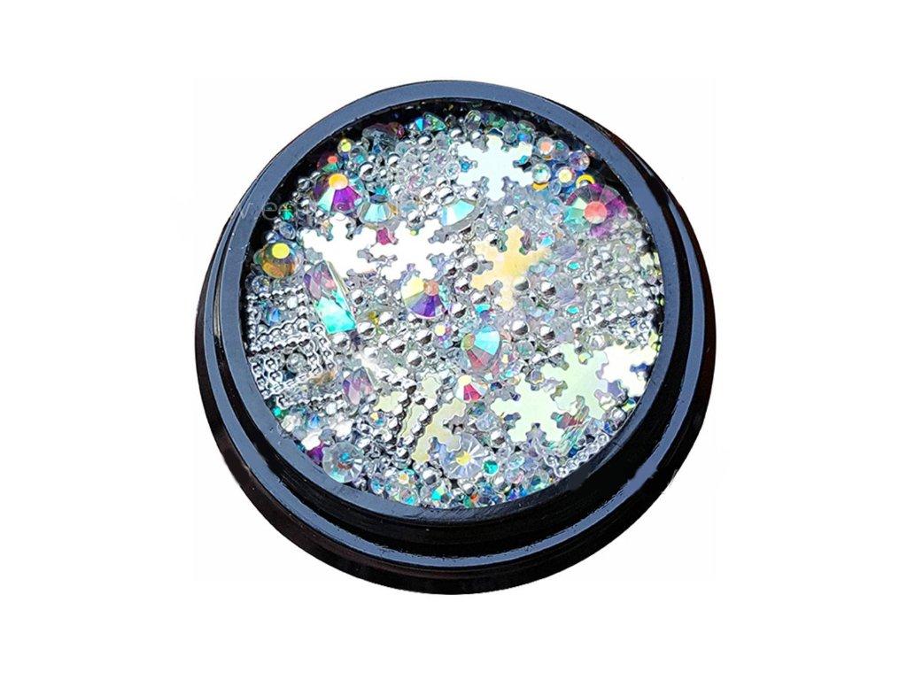 3158 luxusne ozdoby na nail art mix c 7