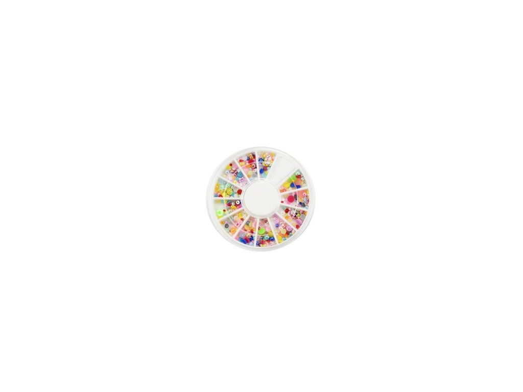 3638 kruh ozdobok perlicky