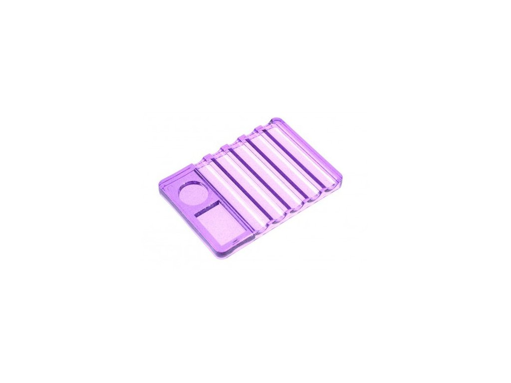 5018 stojan fialovy