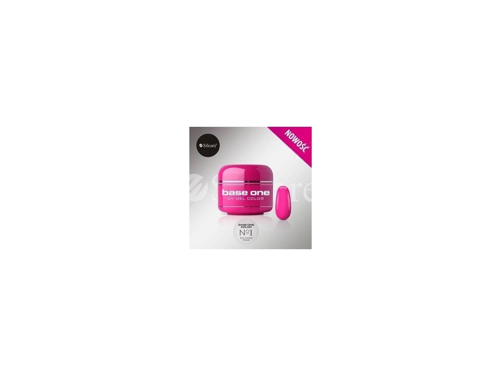 5192 silcare farebny uv gel 5ml pink no 1