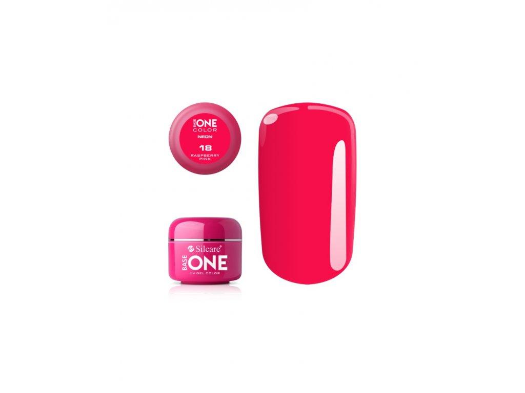 5237 silcare farebny uv gel 5ml neon raspberry pink 18