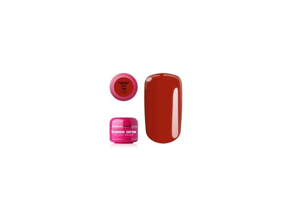 5270 silcare farebny uv gel 5ml red colection 19