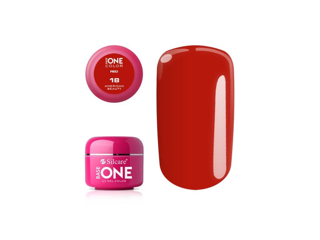 5273 silcare farebny uv gel 5ml red colection 18