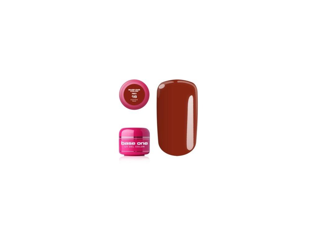 5279 silcare farebny uv gel 5ml red colection 16