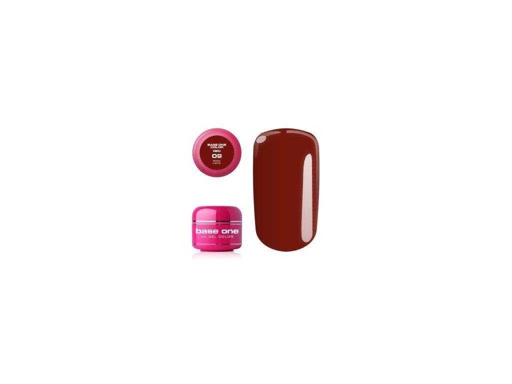 5300 silcare farebny uv gel 5ml red colection 9