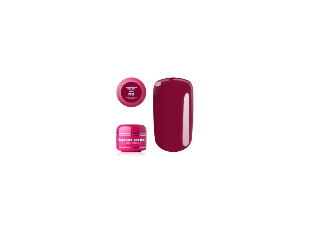 5309 silcare farebny uv gel 5ml red colection 6